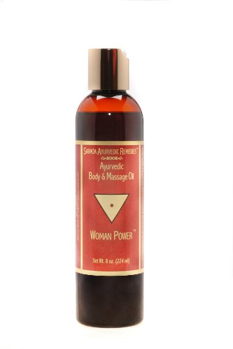 8 oz Woman Power Body & Massage Oil
