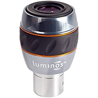 Celestron 93431 Luminos 10mm Eyepiece (Silver/Black)