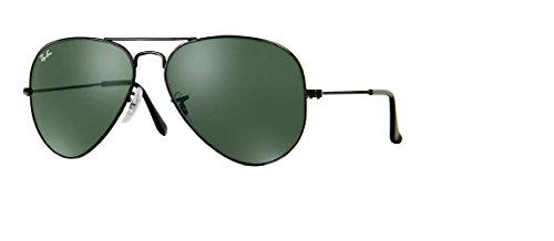 (Ray-Ban RB3025 Aviator Metal Sunglasses)