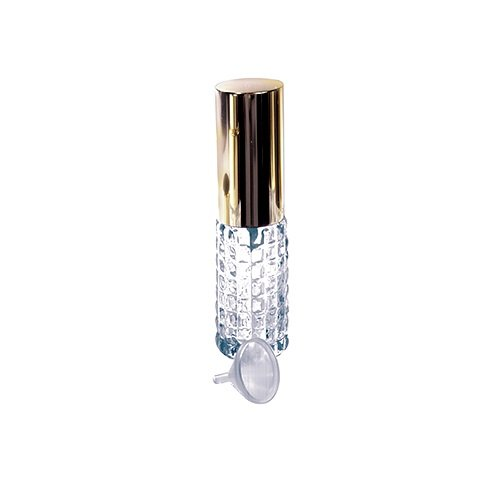 Kingsley Pattern (1 Mini Crystal Purse Travel Atomizer W/funnel-Assorted Styles)