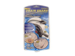 how to make a drain snake