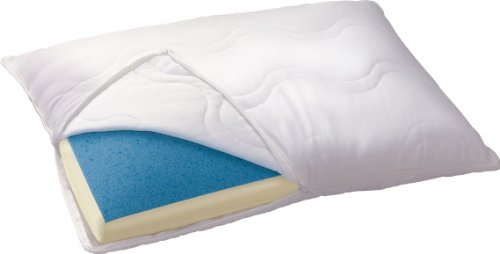 Serta Reversible Gel Memory Foam Classic Pillow