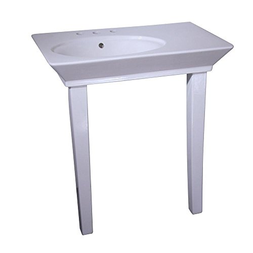 Barclay Products Aristocrat 19-3/8 in. Console Table in White
