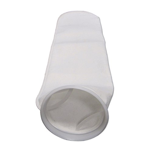 Filter Liquid Bags (PRM Liquid Filter Bags; # 2 Size; 5 Micron; Polyester Felt with Polypropylene Rings (25))