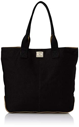 Life is Good Women's Wayfarer Tote Blended Daisy, Night Black, One ()