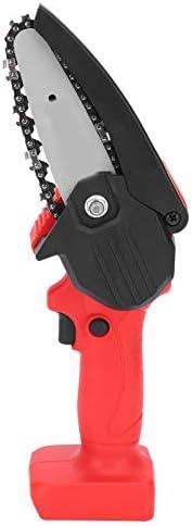 Mini Motosserra Elétrica, Serra Elétrica Portátil Elétrica Mão Recarregável, Motor Cobre Puro, Mudança Velocid