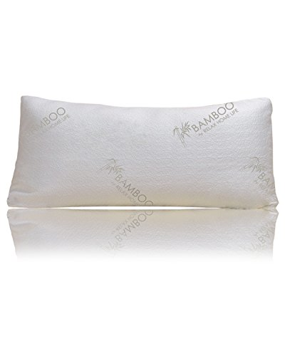 Bamboo By Relax Home Life-Firm Bamboo Pillow With Shredded M