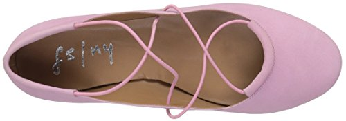 Sole Ballet French Voodoo Women's Pink NY Nubuck Flat FS HddwxP7Xq6