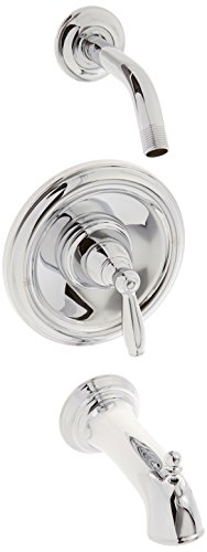 Moen T62153NH Brantford Bulk Pack Tub/Shower Valve Trim, Chrome