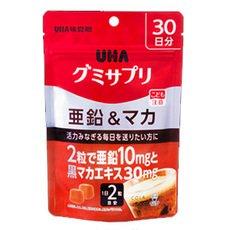 UHA味覚糖 UHAグミサプリ亜鉛&マカ30日分×10個 B01JG9P6G8