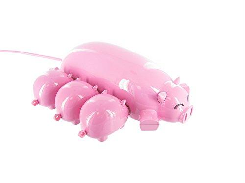 Office Chums Pig USB Hub with 3 USB TF Card Readers