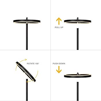 Leonlite Led Torchiere Floor Lamp Dimmable Ambiance Pro