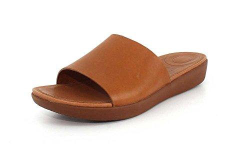 clearance cheap FitFlop Women's Sola Slides Caramel finishline sale online exclusive cheap online limited edition for sale zZAya