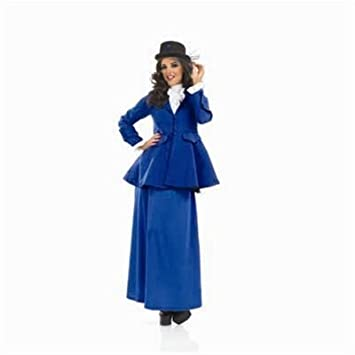 Fun Shack Adult Mary Poppins Victorian Costume - MEDIUM by Fun Shack
