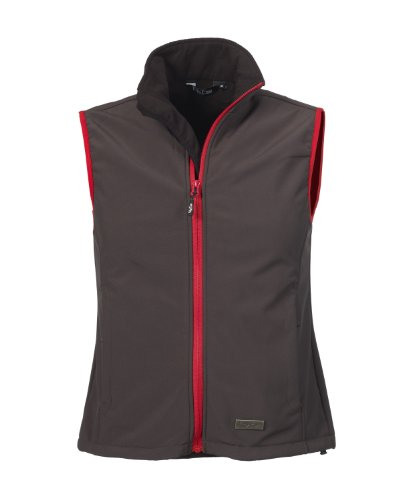 Función Negro nbsp;chaleco Transpirable nbsp;función Mujer Impermeable red nbsp;– Fifty Softshell nbsp;chaleco Kanara Anthracite Five Cortavientos nbsp;– nbsp;– P6HTqqXY