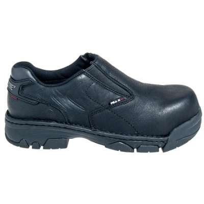 Wolverine Men's Falcon 8398 Black Composite Toe Non Metal EH Work Shoes