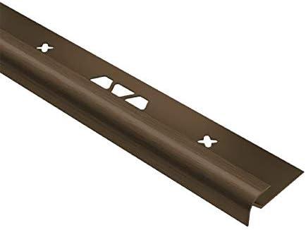 ABGB 1//4, Brushed Bronze Schluter VINPRO-RO Tile Edging Trim