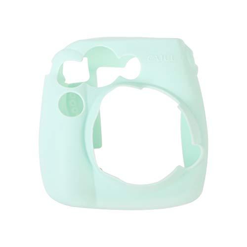 Qisuw Camera Bag for Fujifilm Instax - Soft Silicone Camera Bag Jelly Case Skin Cover for Fujifilm Instax Mini 8/8+/9