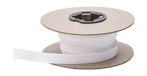 Pearl Double Fold Bias, 15 yd, White (Use Double Fold Bias Tape)
