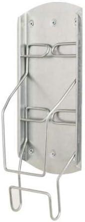 con supporto in ferro. IKEA Variera pensile a parete in acciaio zincato
