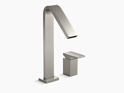 - KOHLER K-14675-4-BN Loure Deck-Mount High-Flow Bath Faucet, Vibrant Brushed Nickel