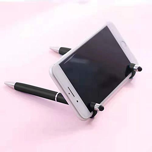 Stylo Tactile Tablette stylos à Bille écran Tactile stylot Tactile Support téléphone stylos à Bille Multifonction 3en1 Type Retractable