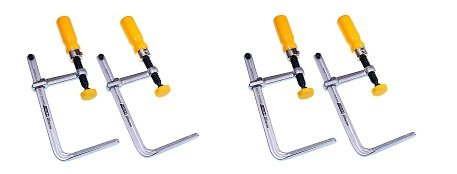 MICROJIG DVC-525K2 MATCHFIT Dovetail Clamps for Wood Dovetail Track [Discontinued] (2-(Pack))