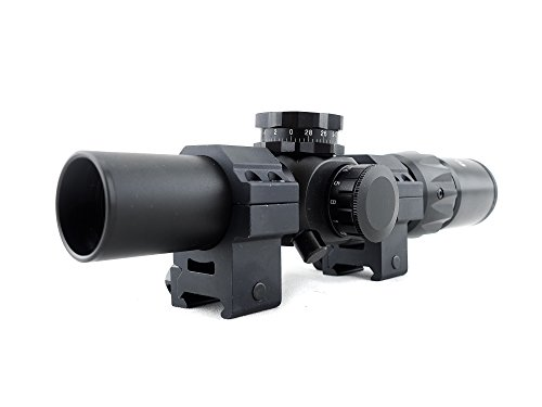 Monstrum Tactical 1-6x24 First Focal Plane  Rifle Scope with