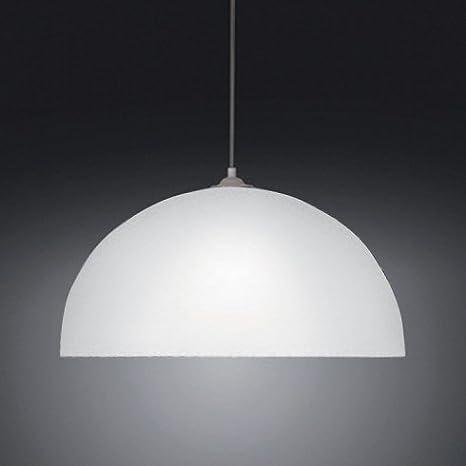 Free lampadario bianco mezza sfera in plexiglass ideale per salotto camera cucina versione - Grancasa lampadari ...