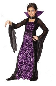 [Countess Of Darkness Child Large Costume] (Countess Of Darkness Child Halloween Costume)