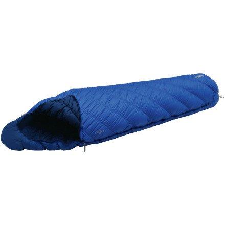 MontBell Super Spiral Burrow Bag 40 Degree Sleeping Bag Blue Ridge Regular / Right Zip, Outdoor Stuffs