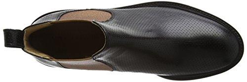 Melvin&Hamilton Sally 25, Zapatillas de Estar por Casa para Mujer Multicolor - Mehrfarbig (Salerno Perfo Metallic bakelite Copper/XL Ginger Black)