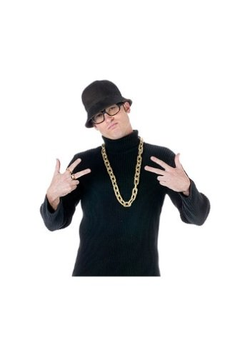 The Rapper Game Halloween Costume (Old School Rapper Costume Kit)