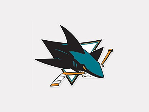 NHL San Jose Sharks Perfect Cut Color Decal, 4