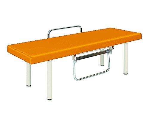 高田ベッド7-3161-10診察台オレンジ650×1800×500mm B07BD2VDD3