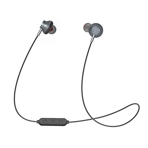 BT-08 Handfree Wireless Neckband Sport 4.2 Headset Stereo Headphone Earphone In-Ear for Sports Running – Gray