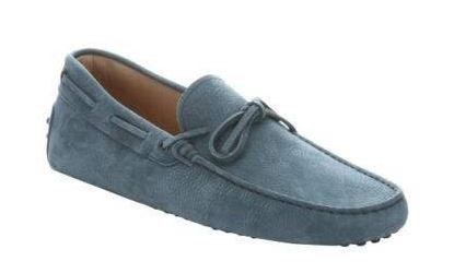 0fdcff84b6a Tod s  Gommino  Nubuck Leather Men s Tie Loafers ...