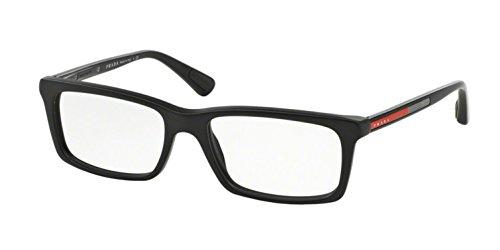 Prada Linea Rossa Men's PS 02CV Eyeglasses Matte Black ()