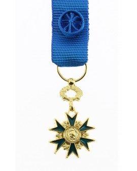 Le Comptoir Des Médailles Médaille Officier de l'Ordre du Mérite Bronze Doré - DEMRO0ONMER