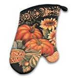 Fall Pumpkin Bountiful Harvest Kitchen Oven Mitt