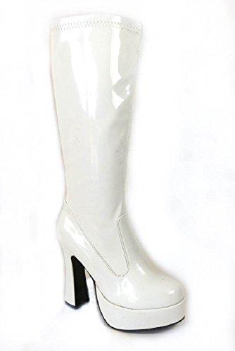 41 White 39 Patent nbsp;diversi Party Modelli 38 Da 60 Retro Stivali 37 Donna Go 35 Anni 70 E Stile 11827 40 Taglia Per 36 1HaRRWnB