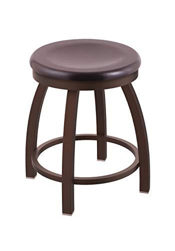 Holland Bar Stool Co. 80218BZDCMpl 802 Misha Vanity Stool, 18