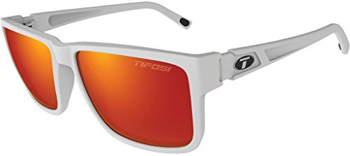 Tifosi Hagen XL 1270401278 Sunglasses, Matte White, 55 mm from Tifosi