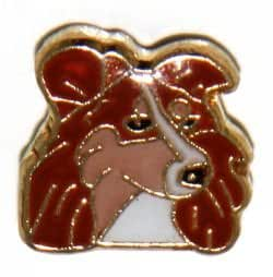 amazoncom collie dog floating charm for heart lockets