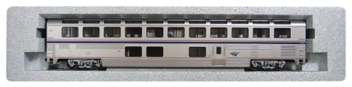Kato USA Model Train Products #33019 Amtrak Superliner Lounge Phase IVB Train Car