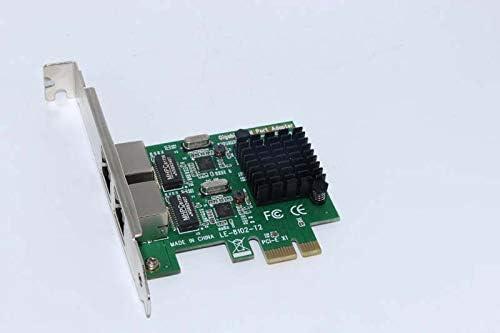 Value-5-Star Gigabit PCI-Express Network Card 1000M PCI-e Double RJ45 Port NIC Adapter Server Lan Adapter For PC Desktop