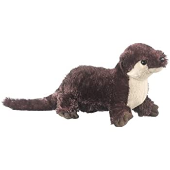 amazon com river otter 12 plush stuffed animal toy toys games