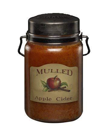Mulled Apple Cider 26oz Jar Candle (Best Cider For Mulled Cider)