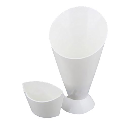 Jili Online Snack Cone Stand With Remove Sauce Dip Fries Chips Finger Food Salad Cup Holder For Snack Storage Kitchen Accessories