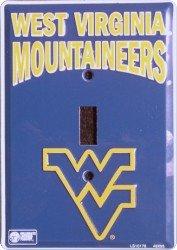 West Virginia Mountaineers Metal Light Switch Plate (West Light Virginia)